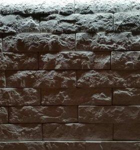 Декоративный гипсовый камень(белый)