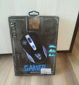 Игровая мышь qumo war gamer