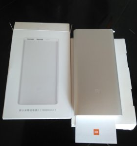 Xiaomi пауэр банк новый