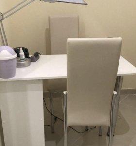 Аренда Маникюрного стола и педикюрного кресла
