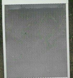 Экран радиаторный металлический 3 шт