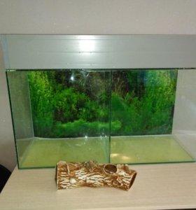 Продам аквариум 110литров.