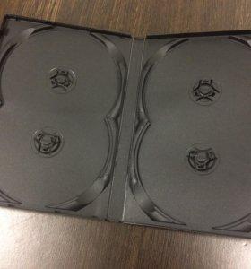 DVD box на 2 и 4 диска, черные