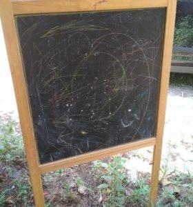 Мольберт детский деревянный для рисования б/ у