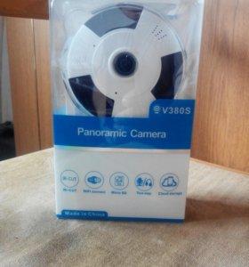 Панорамная камера V380 S