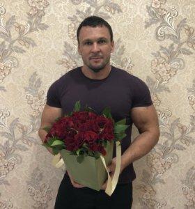 Коробочка 39 роз