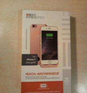 Чехол аккумулятор на айфон 7