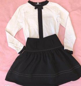 Кофточка и юбка (начальная школа)