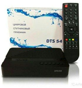 Спутниковая тв-приставка DTS-54