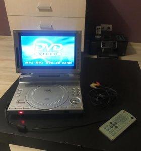 Портативный DVD проигрыватель