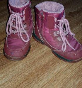 Ботинки из мембраны осень-зима
