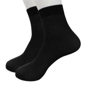 Бамбуковые тонкие носки (на размер 36-40, тянутся)