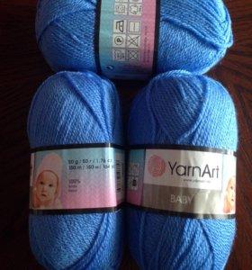 Пряжа для вязания Нако и Ярнарт для деток.