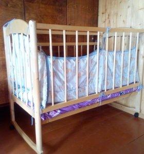 Кроватка Заюшка