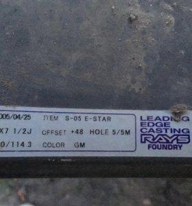 Диски Rays foundry