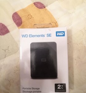 HDD WD 2TB Elements SE (WDBJ