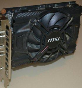 GTX 650 MSI 1 гб
