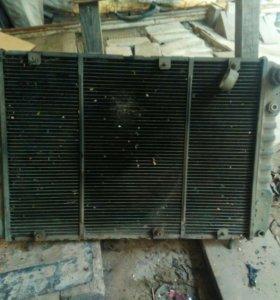 Латунный радиатор волга 3110