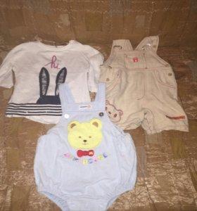 Вещи на девочку 4 пакета