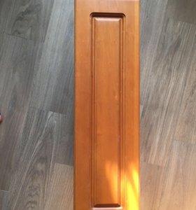 Вытяжка кухонная фасад массив ольхи