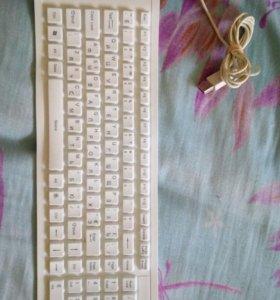 Силиконовая гибкая клавиатура