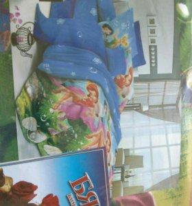 Комплект постельного белья для девочки новый