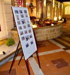 Выездная фотостудия с печатью фотомагнитов