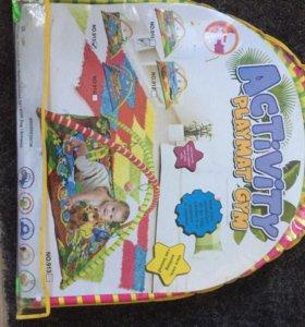 Детский развивающий коврик 0+