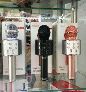 Микрофон беспроводной wster-858 новый