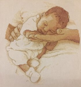 Вышивка «Младенец»