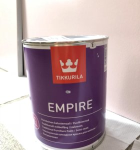 Краска Empire Tikkurila новая