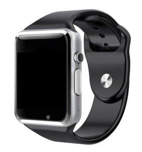 Smart Watch(смарт часы)новые,в наличии черные