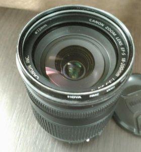 Объектив Canon e-fs 18-200 f/3,5-5,6 is