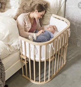 Немецкая приставная кроватка Babybay
