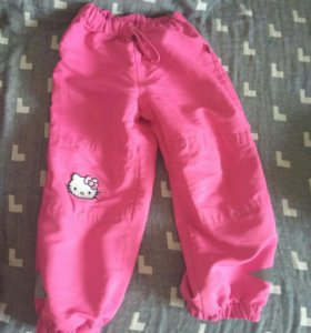 Ветровочные штаны без подкладки 116