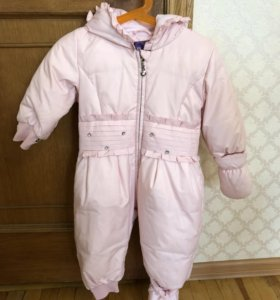 Детский зимний комбинезон ( пуховик )