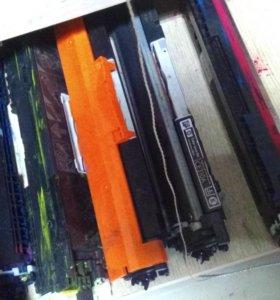 Картриджи для принтера НР 1025 цветные бу