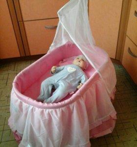 Люлька (колыбель) для куклы