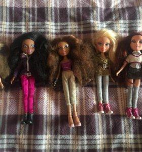 Куклы братц для девочек и одежда в подарок