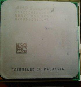 Мать MSI + AMD Sempron + память