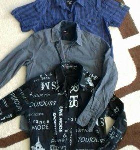 Рубашки за все 100рублей