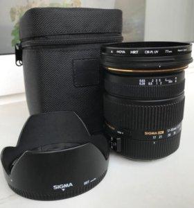 Sigma 17-50 1:2.8 EX HSM для Canon