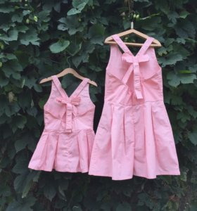 Платья сарафаны familylook, платье мама дочка
