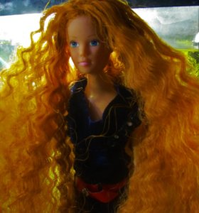 Кукла Штеффи рыжая, тип барби