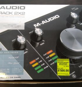 Внешняя звуковая карта М -audio M-Track 2x2m