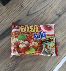 Тайская лапша быстрого приготовления