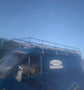 Багажник на газель