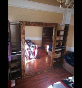 Эксклюзивный шкаф зеркало