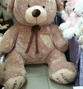 Медведь плюшевый 2м