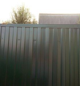 Ворота 2 створчатые